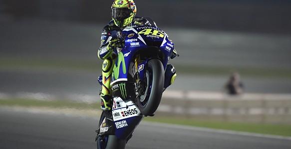 MOTO GP – Notícia do Leitor – Em corrida emocionante, Rossi leva a primeira da temporada