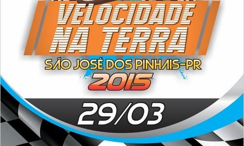 VELOCIDADE NA TERRA – PARANÁ – 1ª etapa neste Domingo em São José dos Pinhais/PR