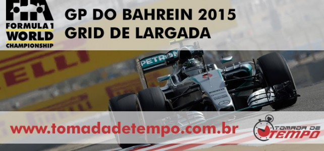 FÓRMULA 1 – GRID DE LARGADA – Um intrometido entre as Mercedes