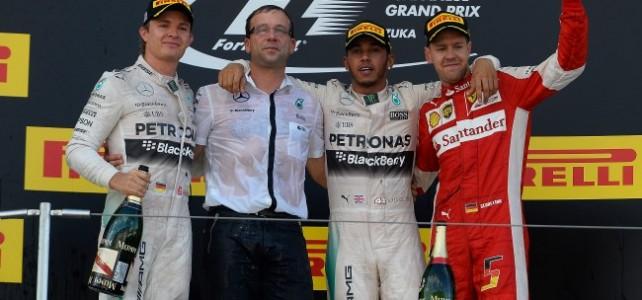 FÓRMULA 1 – Resultado Final – Deu Lewis Hamilton – GP do Japão – 2015