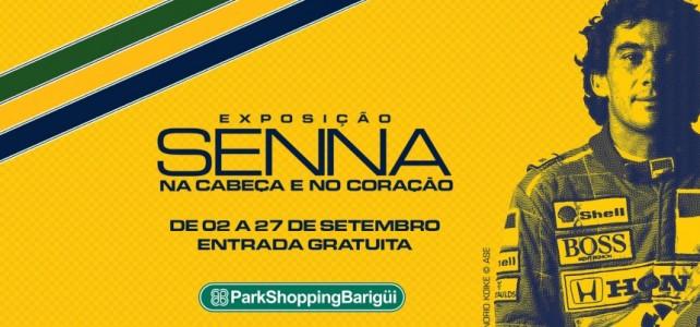 EVENTO – Exposição Senna na cabeça e no coração – Shopping Barigui – Curitiba