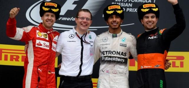 FÓRMULA 1 – Resultado Final, Hamilton vence e Mercedes leva o título de construtores – 2015