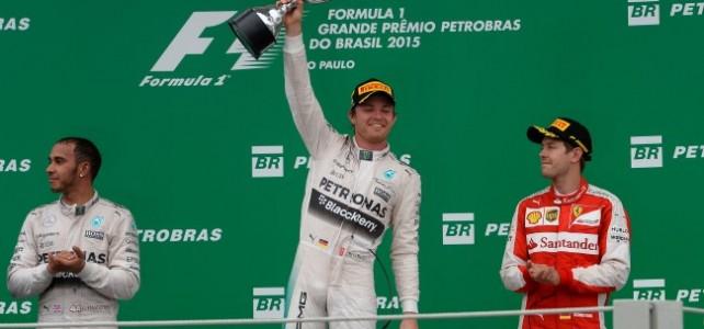 FÓRMULA 1 – TEMPO REAL – Resultado Final – GP do Brasil 2015