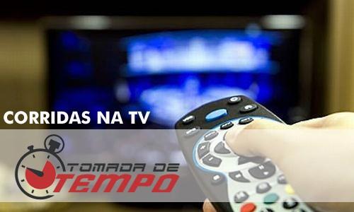 PROGRAMAÇÃO DA TV – Corridas transmitidas na TV – 07/05/2016 a 08/05/2016
