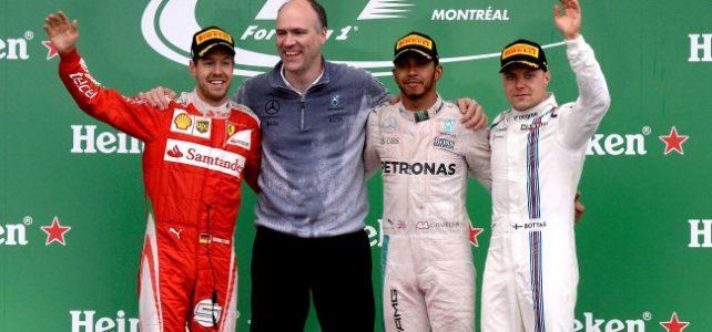 FÓRMULA 1 – Resultado Final – GP do Canadá – 2016