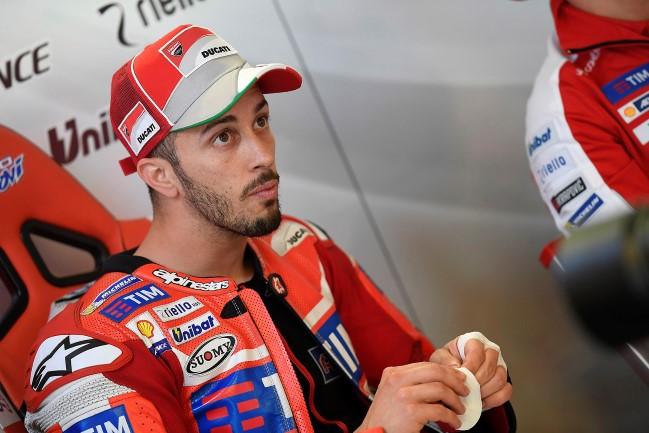 Andrea Dovizioso atento na classificação - Foto: Ducati