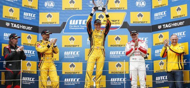 WTCC – Em Moscou, Lada faz dobradinha e Tarquini vence a primeira na WTCC – 2016
