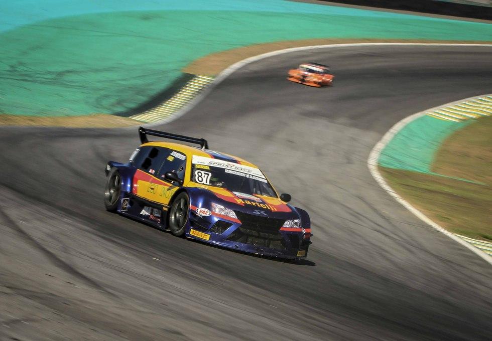 Ricardo Zonta crava o melhor tempo e é o pole position. - Foto: Luciano Santos.