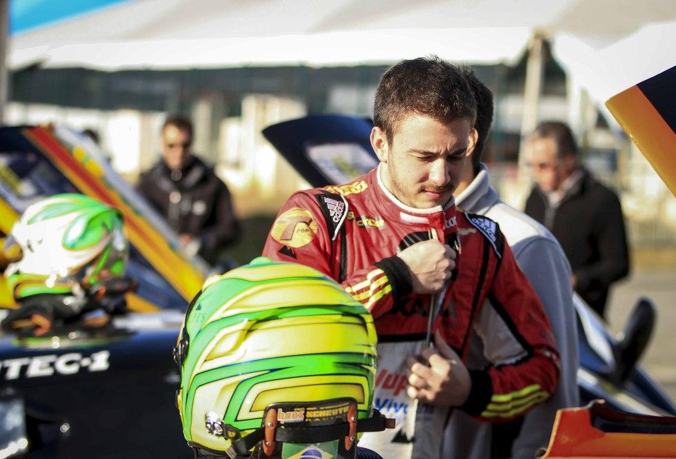 Gabriel Casagrande conquistou a segunda posição. - Foto: Luciano Santos.