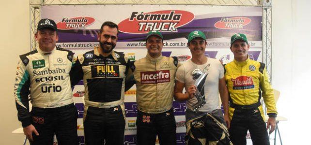 FÓRMULA TRUCK – Giaffone foca em ficar na liderança na próxima etapa da Truck em Tarumã – 2016