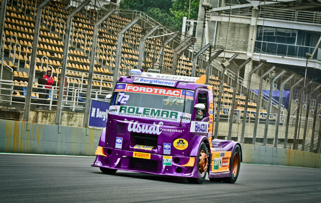 Djalma Fogaça é um dos nomes fortes nesta sétima etapa da temporada da Truck. - Foto: Luciana Flores.