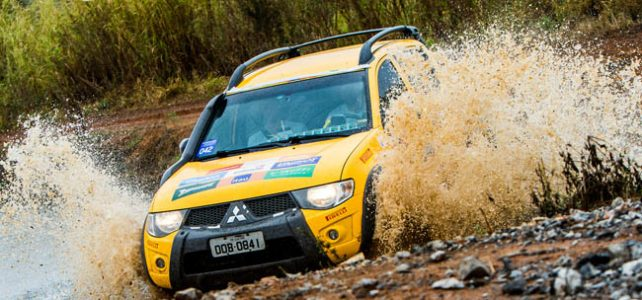 RALLY – Diversão e muita chuva marca a etapa de Vinhedo (SP) do Mitsubishi Motorsports – 2016