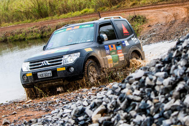 Foram mais de 150 km em meio a belas paisagens. - Foto: Cadu Rolim/Mitsubishi.