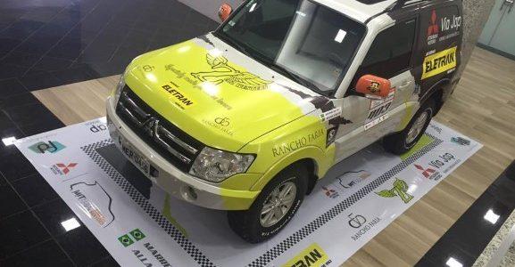 RALLY – Otávio e Allan Enz lançam carro de sua equipe no Rally dos Sertões em Apucarana/PR – 2016