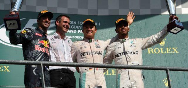 FÓRMULA 1 – Resultado Final – GP da Bélgica – 2016