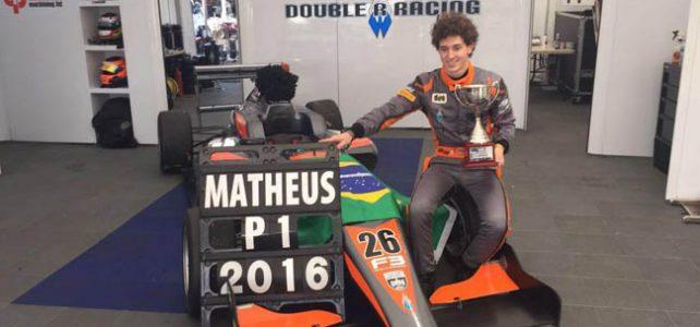 FÓRMULA 3 – Matheus Leist leva o título da F3 Inglesa em Donington Park – 2016
