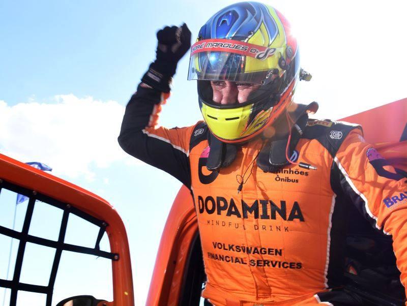 André Marques, venceu de ponta a ponta a etapa de Cascavel. - Foto: Facebook/RM Competições.