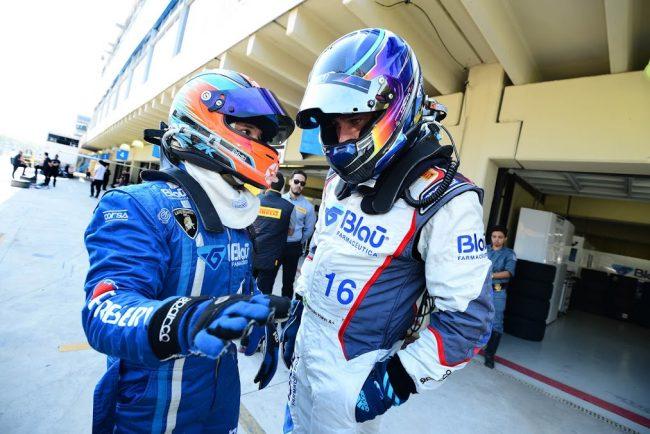 No destaque os pilotos Marcelo Hahn e Allam Khodair. - Foto: porschecup.com