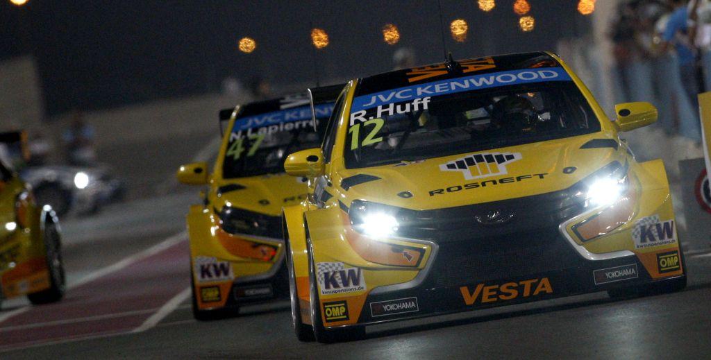 Equipe Lada no WTCC. - Foto: wtcc.com