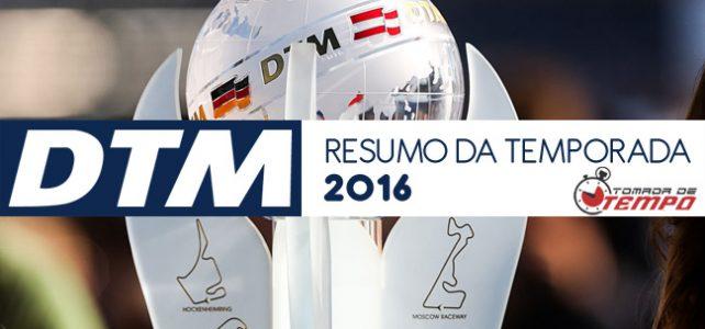 DTM – RESUMO DA TEMPORADA 2016 – Classificação final e estatísticas