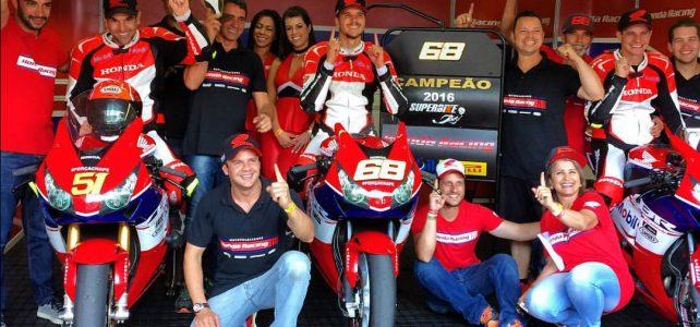 SUPERBIKE BRASIL – Faustino é o campeão da SBK Brasil, confira o resumo da temporada – 2016