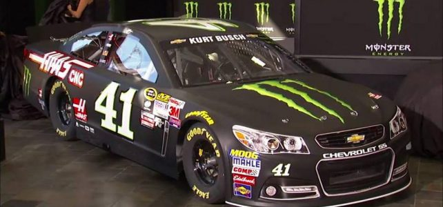 NASCAR – Monster Energy anuncia que será a nova patrocinadora da Cup – 2016