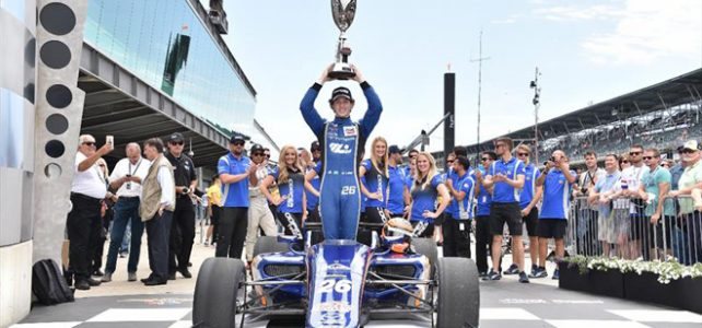 INDY LIGHTS – Resultado Final – Matheus Leist vence a Freedom 100 (Etapa Indianápolis) – 2017