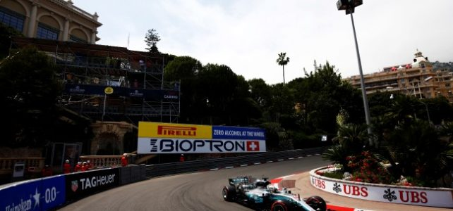FÓRMULA 1 – Resultados dos Treinos Livres – GP de Mônaco – 2017