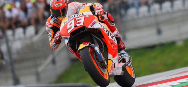 MOTO GP – GP da Áustria / Red Bull Ring – Grid de Largada – Marc Marquez pole position – 2017