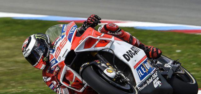 MOTO GP – No final do 2º Treino Livre, Ducati apresenta nova carenagem em Brno – 2017