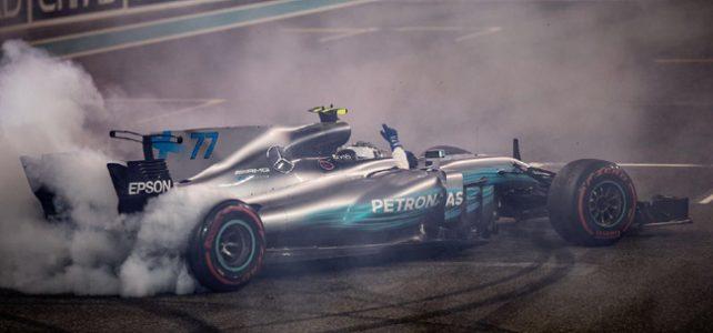 FÓRMULA 1 – Resultado Final – Bottas vence, Massa se despede e a F1 apresenta seu novo logo – GP de Abu Dhabi – 2017