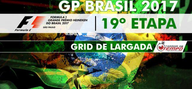 FÓRMULA 1 – GP BRASIL – Grid de Largada – Hamilton bate e Bottas é pole – 2017