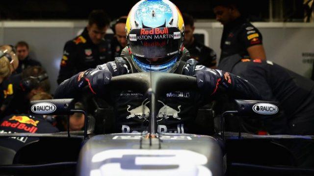 Carro Aston Martin Red Bull Racing - RB14 - 2018. Foto: Site Oficial redbullracing.redbull.com