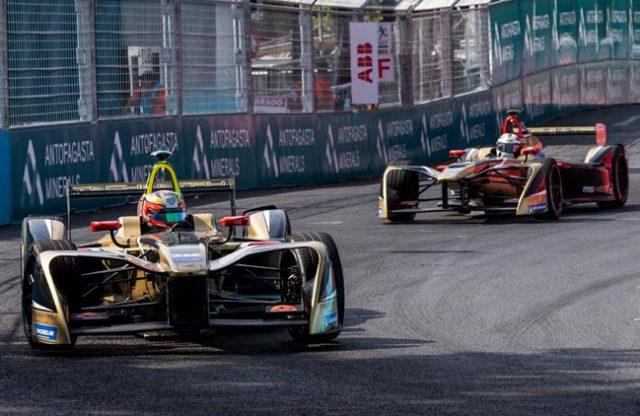 Vergne na etapa de Santiago/Chile - Fórmula-E - Foto: Michelin