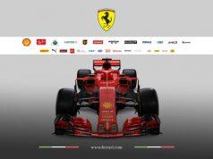 Carro da Ferrari - SF71H - 2018. Foto: Site Oficial Ferrari