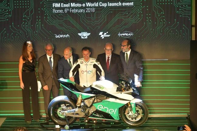 Lançamento do projeto MotoE - Foto: MotoGP.com