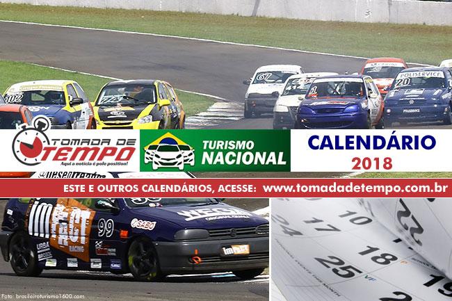 Calendário Brasileiro de Turismo 1600 - 2018