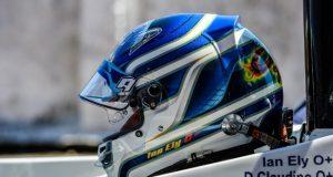 Novo capacete Ian Ely - Temporada 2018 - Endurance Brasil - Foto: Facebook Oficial MCR71
