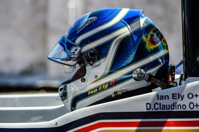 Novo capacete Ian Ely - Temporada 2018 - Endurance Brasil - Foto: William Inacio / Facebook Oficial MCR71