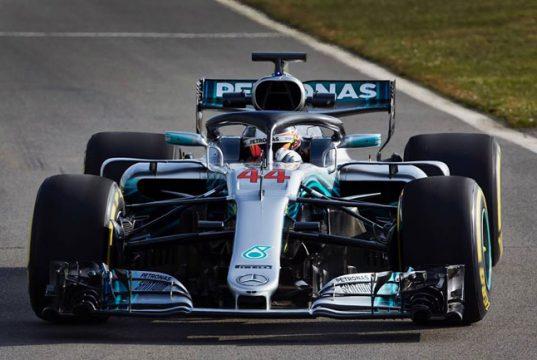 Hamilton Pole Position GP da Austrália 2018 - Fórmula 1 - Foto: Facebook Oficial Hamilton
