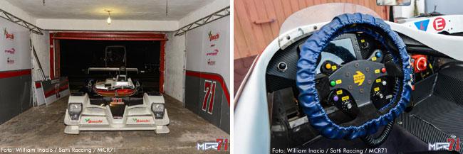 MCR71 já nos boxes de Guaporé - Endurance Brasil - Foto: William Inacio