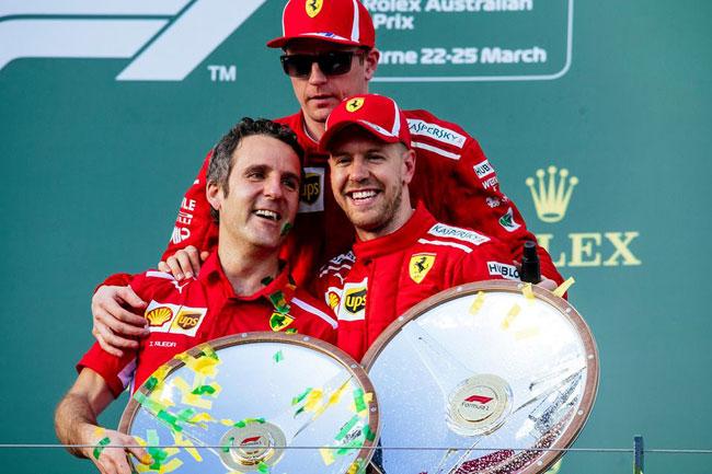 Vettel vence GP Austrália 2018 - F1 - Foto: Facebook Oficial Scuderia Ferrrari F1