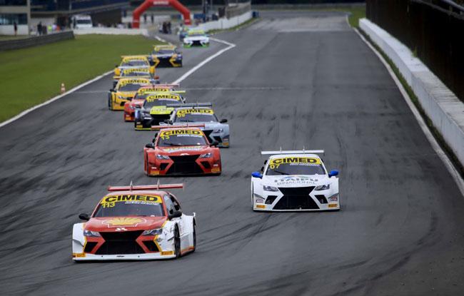 Grid de Largada Corrida #1 - Sprint Race - Foto: Luciano Santos/Sigcom