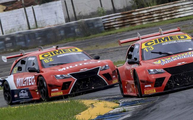 Rapha Campos e Gerson Campos - Sprint Race - Foto: Luciano Santos/Sigcom