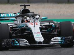 Lewis Hamilton pole position GP da Espanha 2018 - F1 - Foto: Twitter Oficial F1