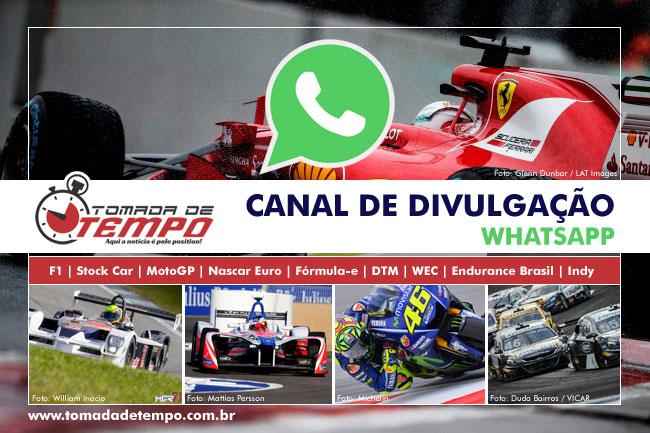 Canal de Divulgação / WhatsApp - Automobilismo - Tomada de Tempo