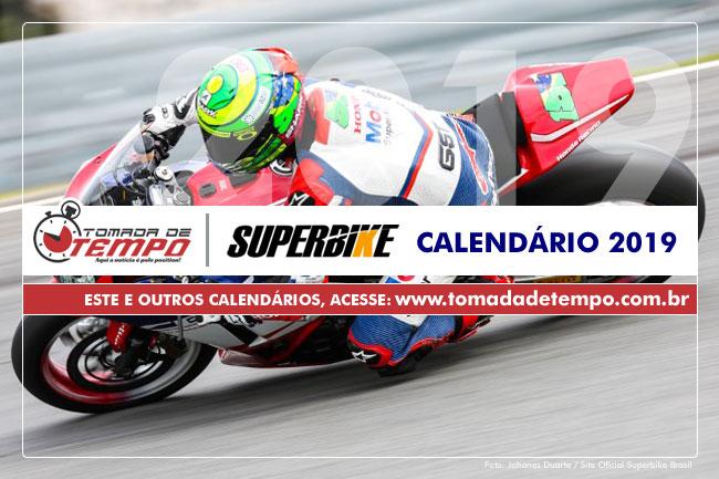 Calendario Super Bike.Superbike Brasil Calendario 2019 Tomada De Tempo