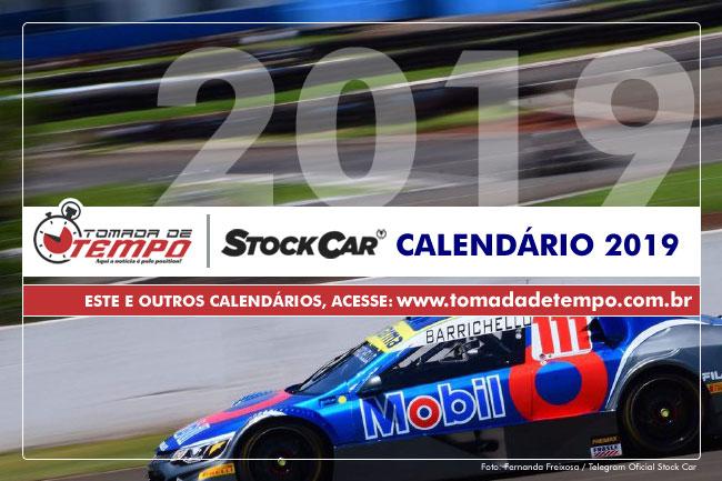 Calendario 2019 Campo Grande Ms.Stock Car Calendario 2019 Tomada De Tempo