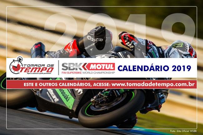 Calendario Super Bike.Wsbk World Superbike Calendario 2019 Tomada De Tempo