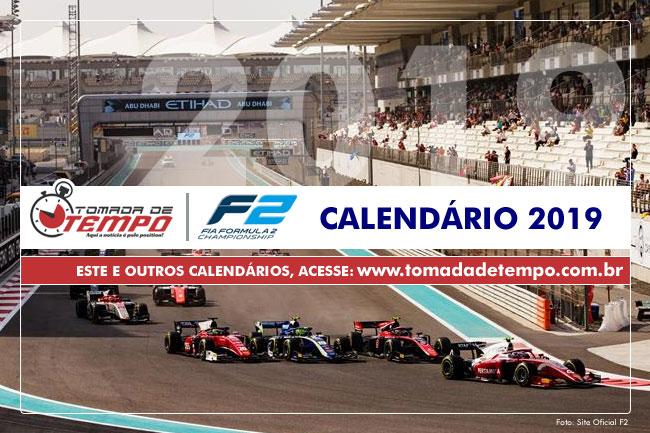 Calendario F2.Formula 2 Calendario 2019 Tomada De Tempo